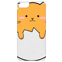 Yellow Cat Egg Apple Iphone 5 Classic Hardshell Case by Catifornia