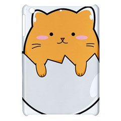 Yellow Cat Egg Apple Ipad Mini Hardshell Case by Catifornia