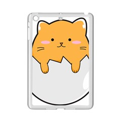 Yellow Cat Egg Ipad Mini 2 Enamel Coated Cases by Catifornia