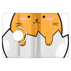 Yellow Cat Egg Kindle Fire Hdx Flip 360 Case by Catifornia