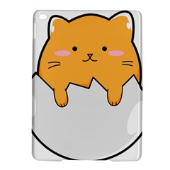 Yellow Cat Egg Ipad Air 2 Hardshell Cases by Catifornia