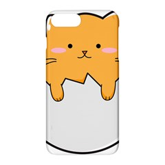 Yellow Cat Egg Apple Iphone 7 Plus Hardshell Case by Catifornia