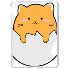 Yellow Cat Egg Apple Ipad Pro 9 7   White Seamless Case by Catifornia