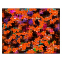 Orange Texture                  Jigsaw Puzzle (rectangular) by LalyLauraFLM