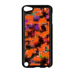 Orange Texture            Apple Ipad Mini Case (white) by LalyLauraFLM