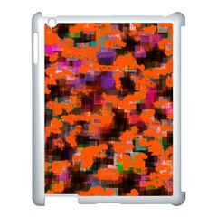 Orange Texture            Apple Ipad 3/4 Case (black) by LalyLauraFLM