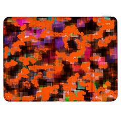 Orange Texture            Htc One M7 Hardshell Case by LalyLauraFLM