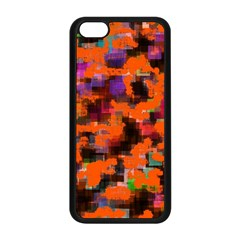 Orange Texture            Iphone 5s Premium Hardshell Case by LalyLauraFLM
