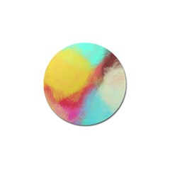 Textured Paint                   Golf Ball Marker (4 Pack) by LalyLauraFLM