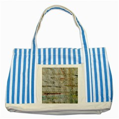 Dirty Canvas                    Striped Blue Tote Bag by LalyLauraFLM