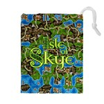 Isle of Skye - Tiles Bag - Drawstring Pouch (XL)