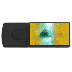 Turquoise River Usb Flash Drive Rectangular (4 Gb) by digitaldivadesigns