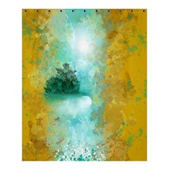 Turquoise River Shower Curtain 60  X 72  (medium)  by theunrulyartist