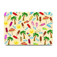 Beach Pattern Plate Mats by Valentinaart