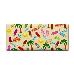 Beach Pattern Cosmetic Storage Cases by Valentinaart