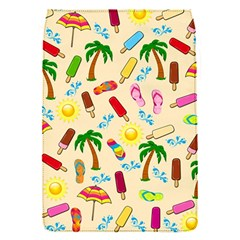 Beach Pattern Flap Covers (s)  by Valentinaart