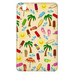 Beach Pattern Samsung Galaxy Tab Pro 8 4 Hardshell Case by Valentinaart