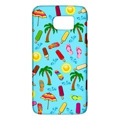 Beach Pattern Galaxy S6 by Valentinaart