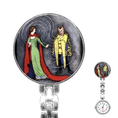 Beauty And The Beast Classic Artwork Stainless Steel Nurses Watch by RoseTylersFanShop