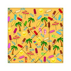 Beach Pattern Acrylic Tangram Puzzle (6  X 6 ) by Valentinaart