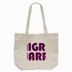 Migraine Warrior With Ribbon Tote Bag (cream) by MigraineursHideout