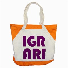 Migraine Warrior With Ribbon Accent Tote Bag by MigraineursHideout
