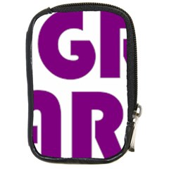 Migraine Warrior With Ribbon Compact Camera Cases