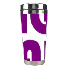 Migraine Warrior With Ribbon Stainless Steel Travel Tumblers by MigraineursHideout