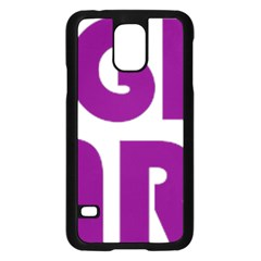 Migraine Warrior With Ribbon Samsung Galaxy S5 Case (black) by MigraineursHideout