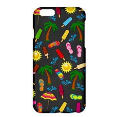 Beach Pattern Apple Iphone 6 Plus/6s Plus Hardshell Case by Valentinaart