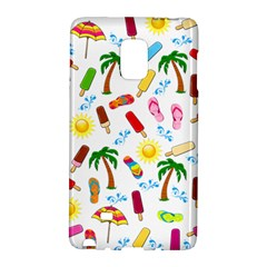 Beach Pattern Galaxy Note Edge by Valentinaart
