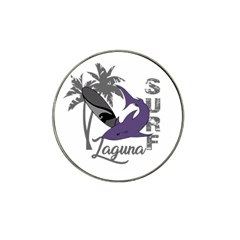 Surf   Laguna Hat Clip Ball Marker by Valentinaart