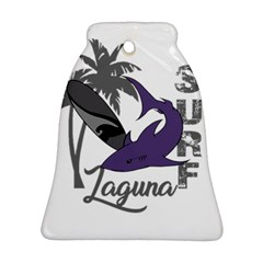Surf   Laguna Bell Ornament (two Sides) by Valentinaart