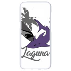 Surf   Laguna Samsung Galaxy S8 White Seamless Case by Valentinaart