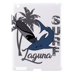 Surf   Laguna Apple Ipad 3/4 Hardshell Case (compatible With Smart Cover) by Valentinaart