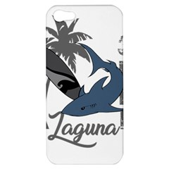 Surf   Laguna Apple Iphone 5 Hardshell Case by Valentinaart