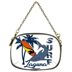 Surf   Laguna Chain Purses (one Side)  by Valentinaart
