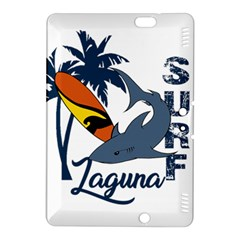Surf   Laguna Kindle Fire Hdx 8 9  Hardshell Case by Valentinaart