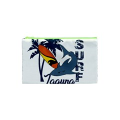 Surf   Laguna Cosmetic Bag (xs) by Valentinaart