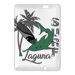 Surf   Laguna Kindle Fire Hdx 8 9  Hardshell Case by Valentinaart
