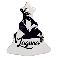 Surf   Laguna Christmas Tree Ornament (two Sides) by Valentinaart