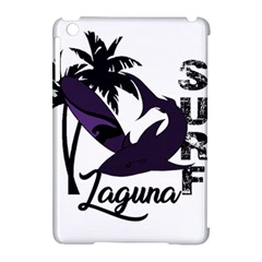 Surf   Laguna Apple Ipad Mini Hardshell Case (compatible With Smart Cover) by Valentinaart