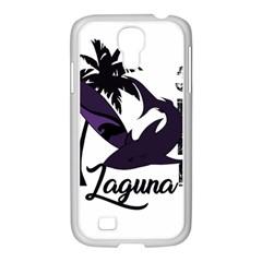 Surf   Laguna Samsung Galaxy S4 I9500/ I9505 Case (white) by Valentinaart