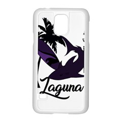 Surf   Laguna Samsung Galaxy S5 Case (white) by Valentinaart