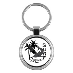 Surf   Laguna Key Chains (round)  by Valentinaart