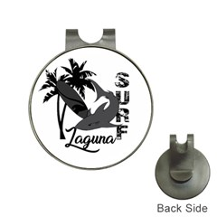 Surf   Laguna Hat Clips With Golf Markers by Valentinaart