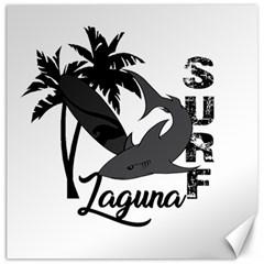 Surf   Laguna Canvas 16  X 16   by Valentinaart