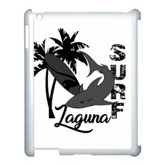 Surf   Laguna Apple Ipad 3/4 Case (white) by Valentinaart