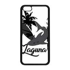 Surf   Laguna Apple Iphone 5c Seamless Case (black) by Valentinaart