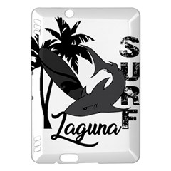 Surf   Laguna Kindle Fire Hdx Hardshell Case by Valentinaart